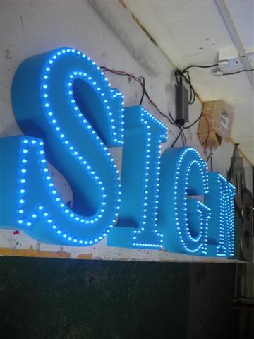 Facelit LED letters